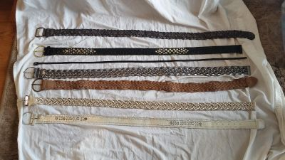 Assorted Belts (Optional Individual Sale)
