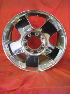"Purchase Used Ford F250 Factory Stock 20 inch Polished w/ Clear Coat Wheel Rim 20"" OEM motorcycle in Norman, Oklahoma, US, for US $239.99"