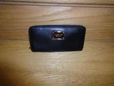 Authentic Black Michael Kors wallet