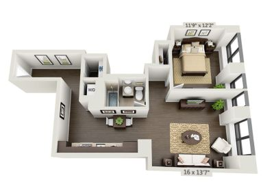 $7950 1 apartment in Financial District