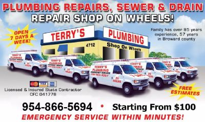 Terry's Drain & Sewer