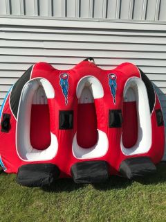 Used Airhead Viper 3 Person Tow Behind Tube Good Condition