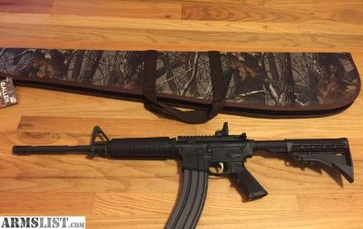 For Sale: AR15 M4 in 5.56NATO (.223) by Anderson AR-15 Mil-Spec MSR New in soft case.