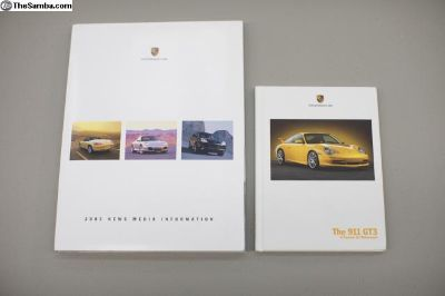 2004 GT3 Original Press Kit
