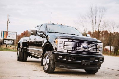 2017 FORD F350 4X4 PLATINUM DUALLY
