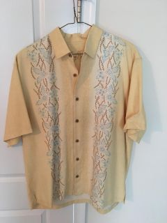 Tommy Bahama 100% Silk Shirt XL