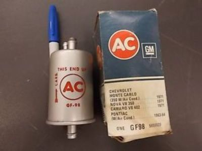 Purchase NOS GM AC FUEL FILTER GF-98 63-64 PONTIAC 1971 CHEVY OTHERS motorcycle in Blairsville, Georgia, United States