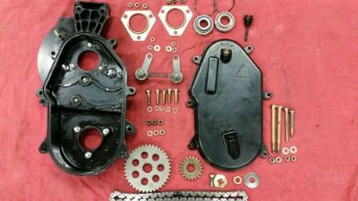 Sell 93 1993 ARCTIC CAT EXT 550 SNOWMOBILE ENGINE HOUSING CHAINCASE CHAIN CASE GEARS motorcycle in Albany, Minnesota, United States, for US $70.00