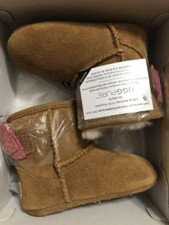 UGGS size 2/3 baby girls
