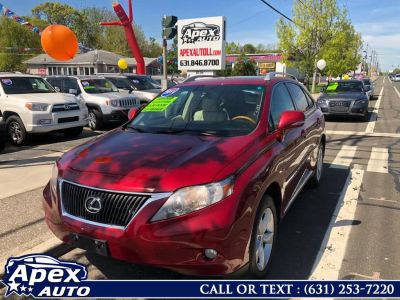 2011 Lexus RX 350 Base (Matador Red Mica)