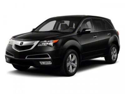 2010 Acura MDX Base w/Tech (Red)
