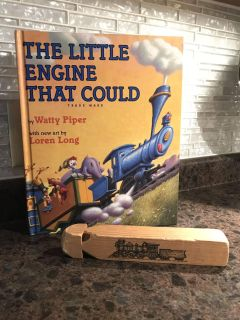 The Little Engine That Could book & train whistle