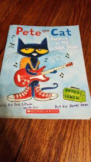 5 copies of Pete the Cat Rocking in my School Shoes