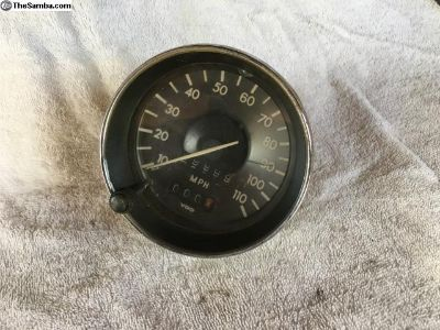 7.72 Speedometer-Rebuilt-Zero Miles-Working Trip