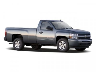 2009 Chevrolet Silverado 1500 Base (Summit White)