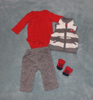3 Month Fleece outfit