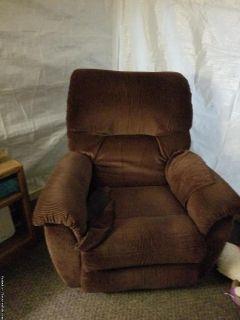Maroon Recliner Chair