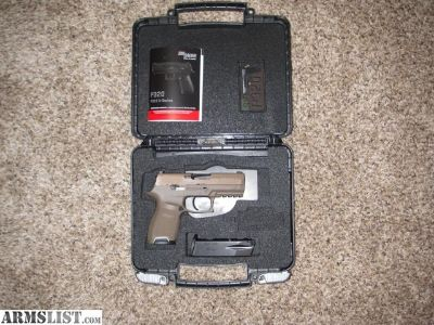 For Sale: Sig P320C FDE .357