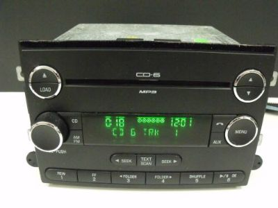 Purchase Taurus Sable Expedition Chrome 6 Disc Changer Radio OEM # 9E51-18C815-AA #1031 motorcycle in Belleville, Michigan, United States, for US $99.99