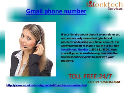 How to attain an effective Gmail Phone Number 1-850-316-4893?