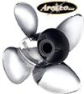 Sell MICHIGAN WHEEL APOLLO 993204 4 BLADE SS STAINLESS STEEL PROPELLER 143/8 X 18 NEW motorcycle in Minnetonka, Minnesota, US, for US $270.00