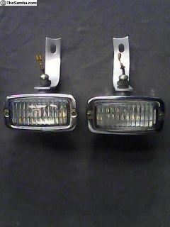 '62- Bug Rear Bumper OEM Hella Reverse Lights