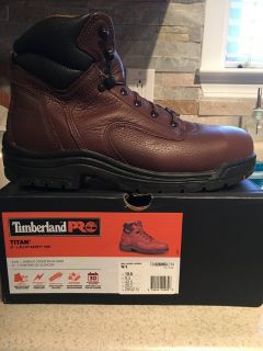 Timberland Steel Toe Work Boots
