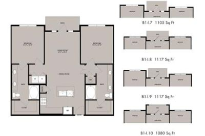 2 bedrooms - Apartments formerly Elan Lakeside offers studio, one. Will Consider!
