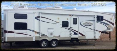 REDUCED BEAUTIFUL 4 SLIDES - 2008 MONTANA MOUNTAINEER - 2, 1,12