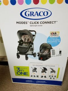 Graco Modes Click Connect Carseat/Stroller Combo