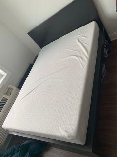 Full bed and memory foam + gel mattress