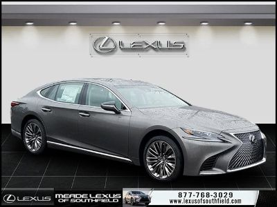 2019 Lexus LS 500 (Gray)