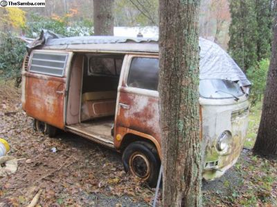 1969 Bay Window Camper Bus