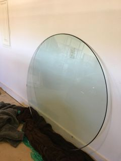 52 beveled glass 1/4 inch thick