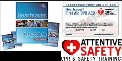Heartsaver First Aid CPR AED Classroom Course