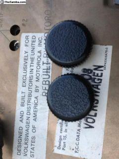 NOS Motorola/Sapphire radio knobs