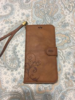 IPhone 6 Plus leather case/ wallet