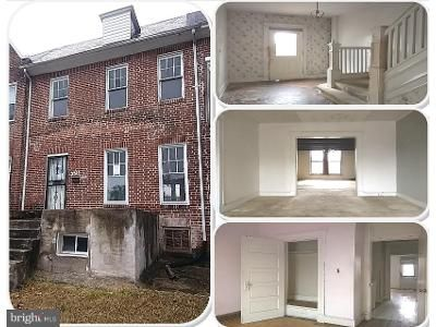 3 Bed 2 Bath Foreclosure Property in Baltimore, MD 21216 - Woodhaven Ave