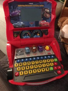 Cars 2 play laptop, has new batteries and works with mouse