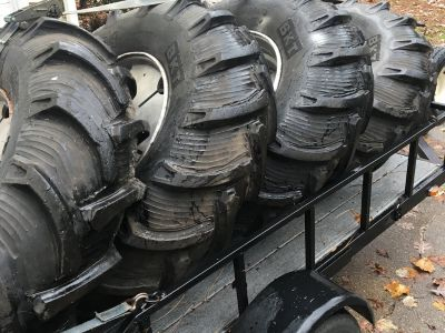 BKT Grooved Irrigation tires and wheels