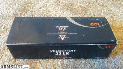 For Sale/Trade: CCI Velocitor .22 lr ammo