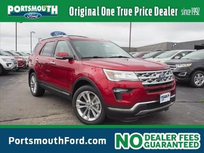 2018 Ford Explorer Limited (Ruby Red Metallic Tinted Clearcoat)
