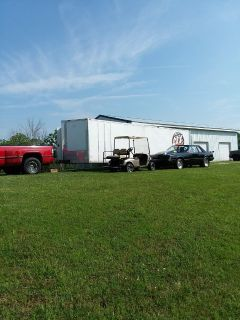 Dodge DUALLY n 28' enclosed trailer