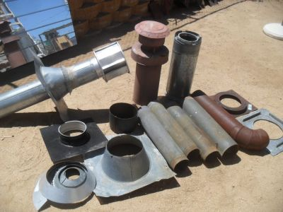 ## Assorted Chimney / Stove Pipes ##