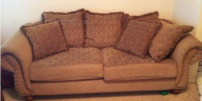 $100, Great couch, chair  ottoman