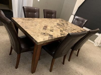 Dinning Set (Table & 6 Chairs) to sell