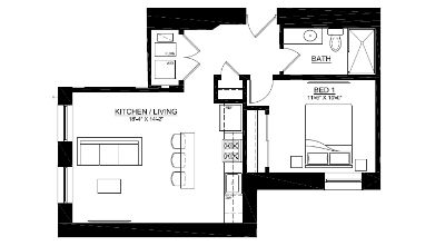 Complete Rehab Garden Apartment - Rooftop with TV - SS Appliances - Luxury Living!