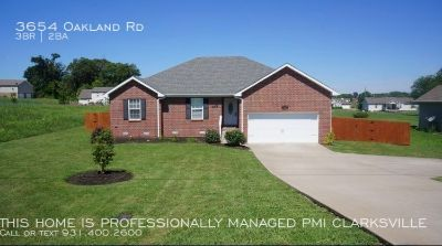 Brick Front Home with Spacious Yard