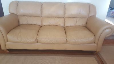Itialian Leather Couch