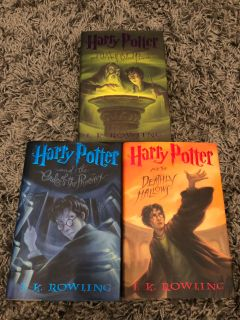 Harry Potter Books 5 6 7 First Edition Hardbacks